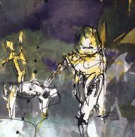 Don-Quijote-mit-Rosinante-begegnen-Sancho-Panza
